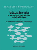Pdf Ecology and Conservation of Southeast Asian Marine and Freshwater Environments including Wetlands Telecharger