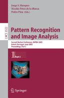 Pattern Recognition and Image Analysis Pdf/ePub eBook