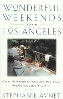 Frommer s Wonderful Weekends from Los Angeles