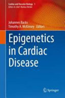 Epigenetics In Cardiac Disease Book PDF
