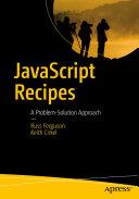 Pdf JavaScript Recipes Telecharger