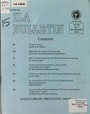 ILA Bulletin Book