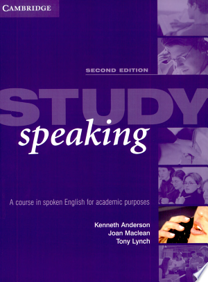 Download Study Speaking Free PDF Books - Free PDF