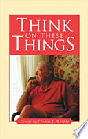 Think On These Things Book PDF