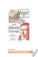 Introducciones a la filosofía de la historia universal