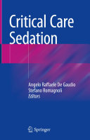 Critical Care Sedation