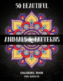 Animals and Patterns Coloring Book