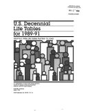 U S Decennial Life Tables For 1989 91 No 16