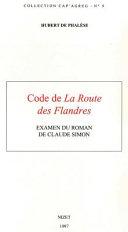 Code de La route des Flandres