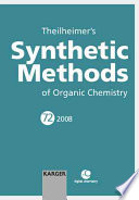 Theilheimer s Synthetic Methods of Organic Chemistry