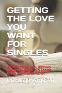Getting the Love You Want for Singles Book