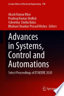 Advances in Systems, Control and Automations