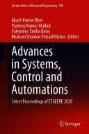 Advances in Systems  Control and Automations