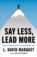 Leadership Is Language