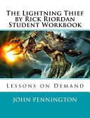 The Lightning Thief by Rick Riordan Student Workbook Book