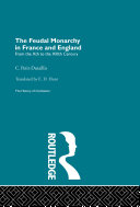Pdf The Feudal Monarchy in France and England Telecharger