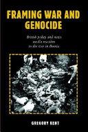 Framing War and Genocide