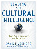 Cover of Leading with Cultural Intelligence
