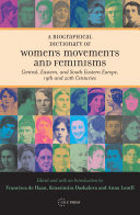 A Biographical Dictionary of Women's Movements and Feminisms [Pdf/ePub] eBook
