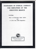Pdf Standards of Ethical Conduct for Employees of the Executive Branch Telecharger