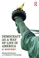 Democracy as a Way of Life in America Pdf/ePub eBook