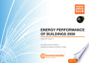 Energy Performance Of Buildings 2008 Special Report Book PDF