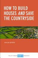 How to build houses and save the countryside