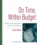 On Time Within Budget Book PDF