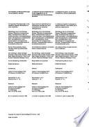 Bibliografia dell'arte svizzera, Bibliografia della conversazione dei beni culturali