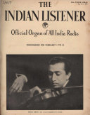 Pdf THE INDIAN LISTENER Vol. III. No. 8. (7th APRIL 1938) Telecharger
