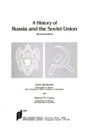 A History of Russia and the Soviet Union
