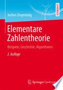 Elementare Zahlentheorie  : Beispiele, Geschichte, Algorithmen