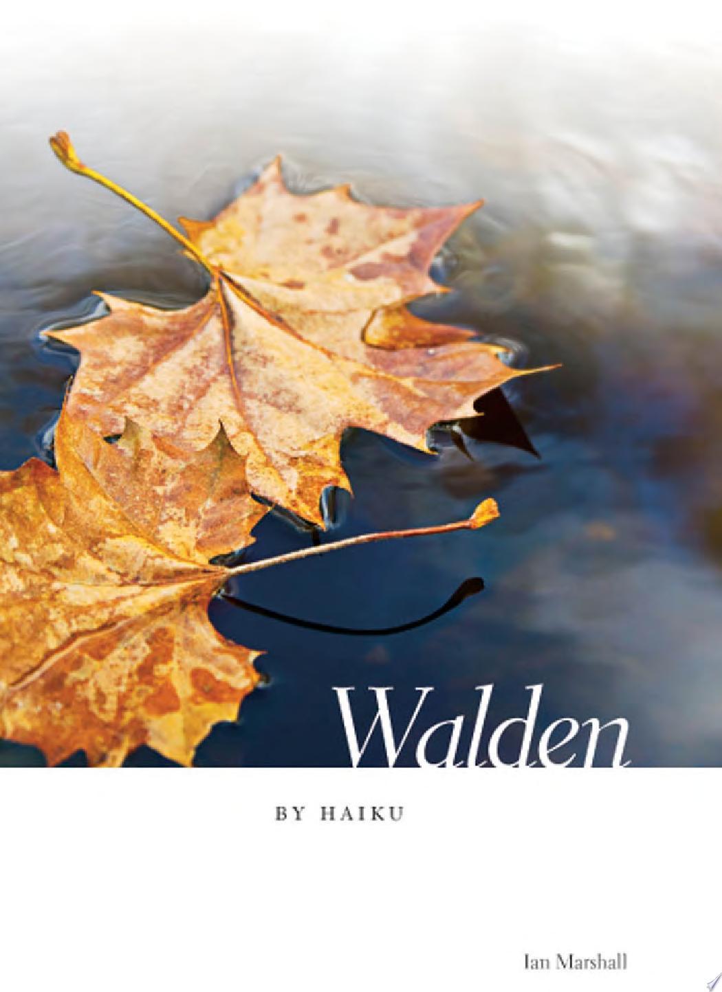 Walden by Haiku