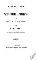 Beschrijving Der Patent Cirkels En Sextanten Van Pistor En Martins Te Berlijn