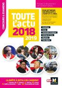 Pdf Toute l'actu 2018 - Concours & examens - Sujets et chiffres clefs de l'actualité 2019 Telecharger