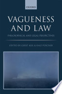 Vagueness And The Law