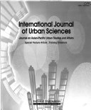 Journal on Asian Pacific Urban Studies and Affairs