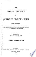 The Roman History of Ammianus Marcellinus