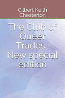 Free The Club of Queer Trades Book