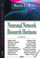 Neuronal Network Research Horizons Book