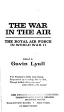 The War in the Air  the Royal Air Force in World War II