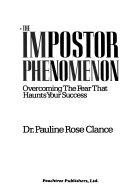 The impostor phenomenon