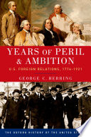 Years of Peril and Ambition