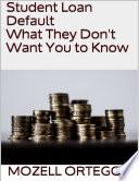 List of Loan Default E-book