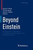 Beyond Einstein Book PDF