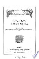 Pansy  by the author of  Willie Russell s temptation   Book