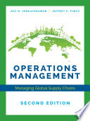 """Operations Management"" by Ray R. Venkataraman, Jeffrey K. Pinto"