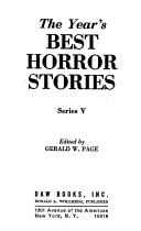 The Year S Best Horror Stories Book PDF