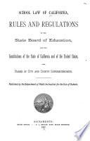 School Law of California