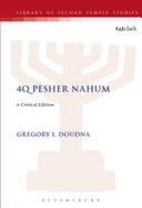 4Q Pesher Nahum